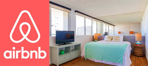 airbnb WAIKIKI OCEAN view private Lanai
